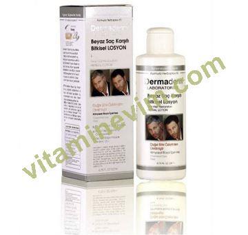 Dermaderm Beyaz Saç Karşıtı Bitkisel Şampuan 200 Ml