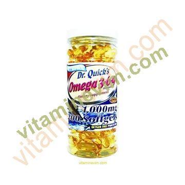 Dr Quick's Omega 3 (200 Softgel)