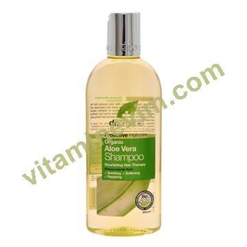 Dr. Organic Aloe Vera Şampuanı 265ml.