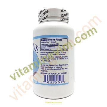 Squalene Köpek Balığı Karaciğer Yağı 1000 Mg