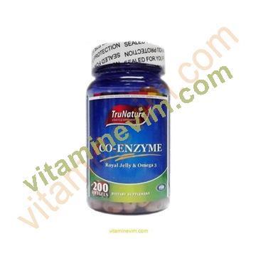 Trunature Co-Enzyme Q10 200 Kapsül