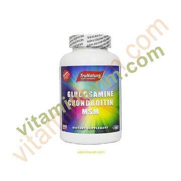 Trunature Glucosamine Chondrotion MSM 300 Tablet