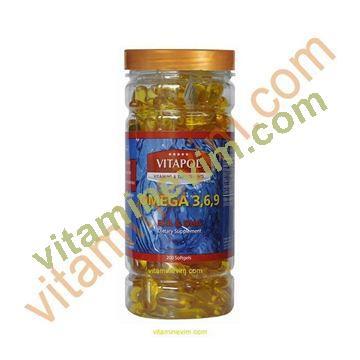 Vitapol Omega 3 6 9 200 Softgels