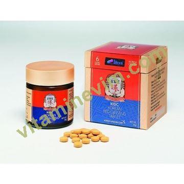 Kırmızı Kore Ginseng Tablet (Kore Devlet Kontrollü Ürün)