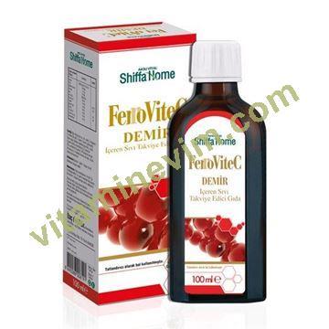 ferrovitec c vitaminli üzüm çekirdeği ekstresi