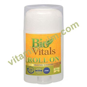 Bio Vitals Kristal Tuz Deodorant Roll-On-vitaminevim